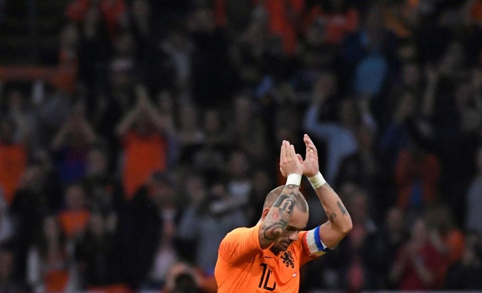 Wesley Sneijder  — Foto: Piroschka van de Wouw/Reuters