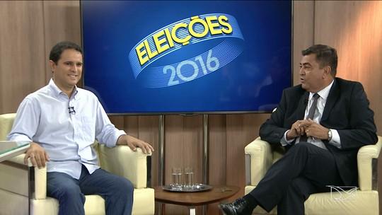 Edivaldo Holanda Júnior é entrevistado na TV Mirante
