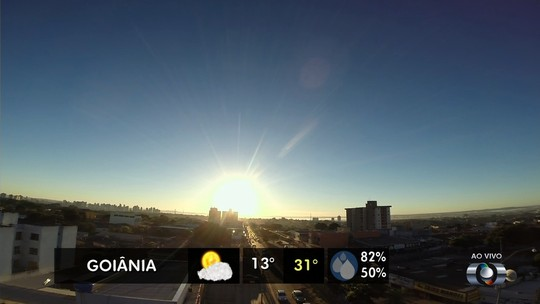 Temperaturas mínimas em Goiânia devem continuar abaixo de 15°C por uma semana, diz Inmet