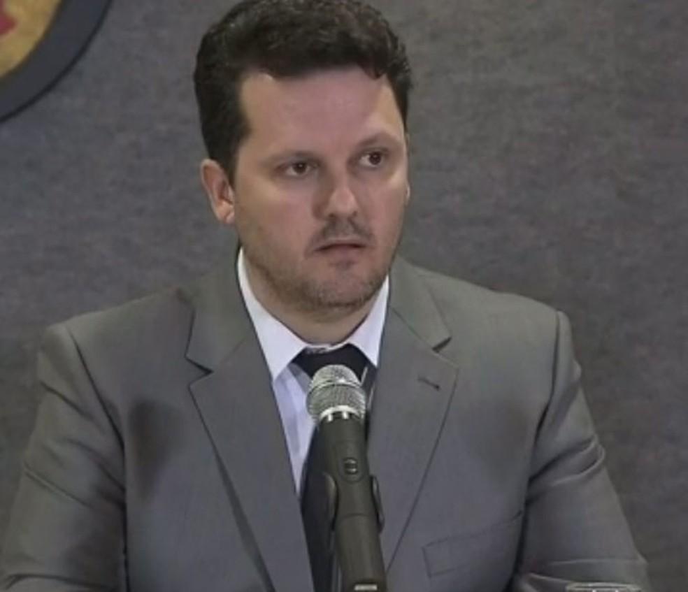O delegado da Polícia Federal (PF) Igor Romário de Paula — Foto: Reprodução/TV Globo