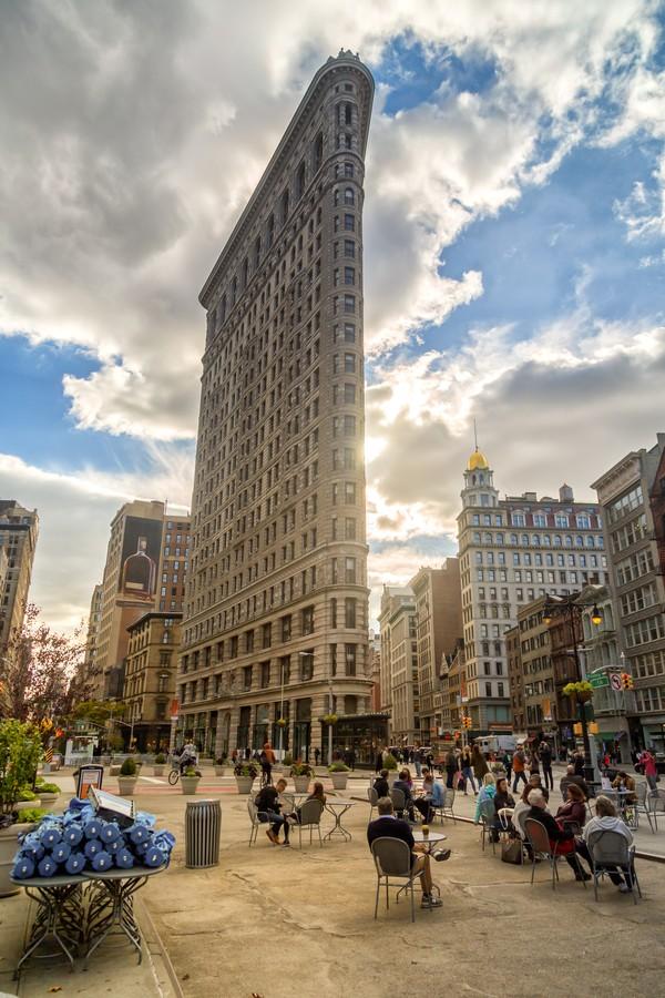 Alto, né? O Flatiron Building já foi considerado o maior prédio do mundo (Foto: Thinkstock)