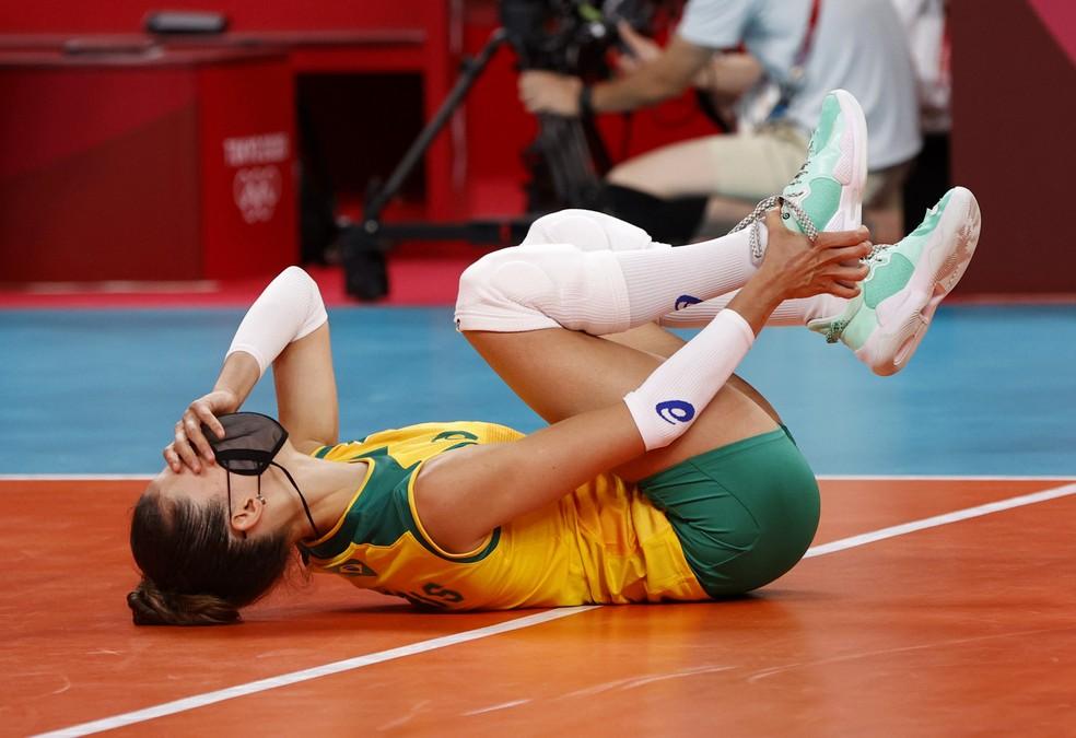 Macris, vôlei, Brasil, Olimpíadas de Tóquio 2020 — Foto: REUTERS/Valentyn Ogirenko