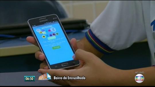Alunos de escola técnica no Recife criam aplicativo para ajudar mães de crianças com microcefalia