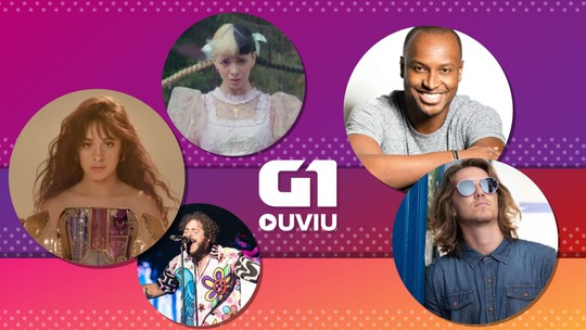 G1 Ouviu: Post Malone Camila Cabello, Melanie Martinez, Thiaguinho, Vitor Kley