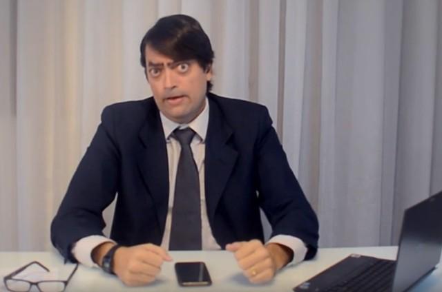 Fernando Caruso no 'Zorra' (Foto: Reprodução)