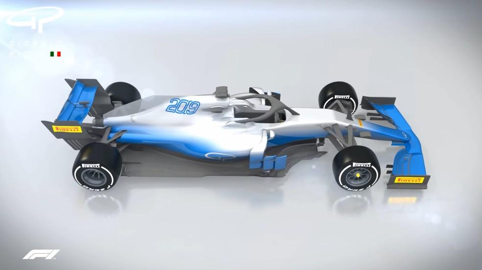 Carros da F1 passarão por mudanças em 2019 — Foto: Reprodução