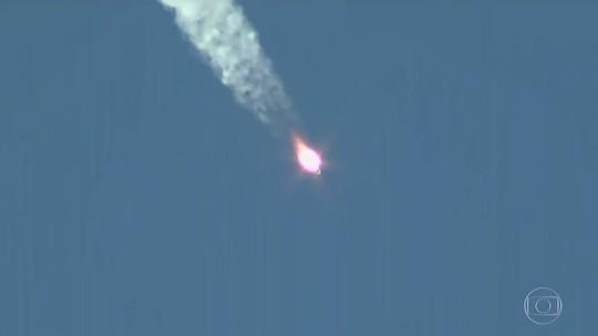 Soyouz tem queda livre em pouso de emergência; astronautas sobrevivem