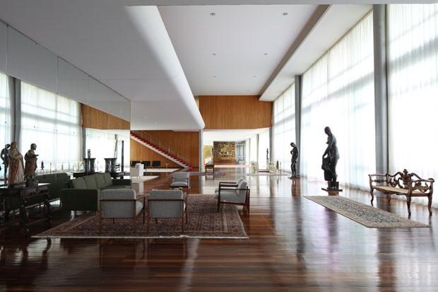 Palácio da Alvorada passa por recuperação de R$ 2,5 milhões antes de receber Bolsonaro (Foto: Cristiano Mascaro)