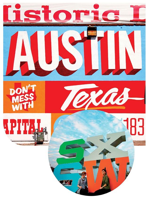 Na South Austin Gallery, acima, há vários souvenirs bacanas da capital do estado, onde rola o festival (Foto: .)