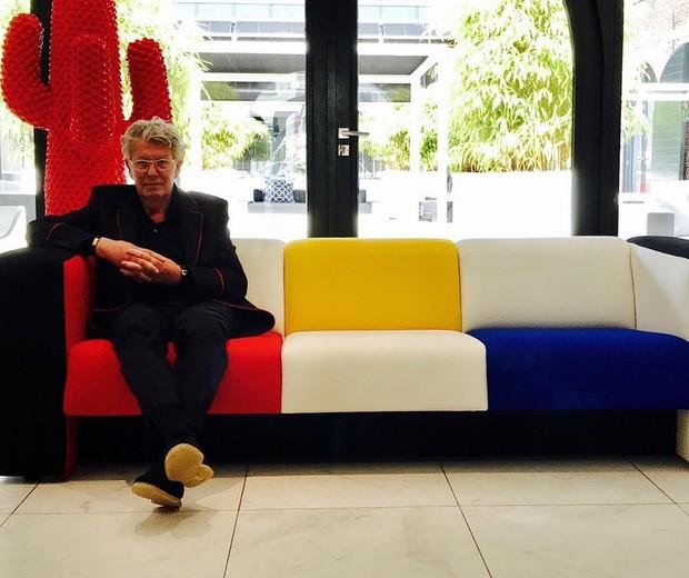 Morre Jan des Bouvrie, designer e arquiteto holandês conhecido por seu minimalismo (Foto: Reprodução / Instagram @jandesbouvrie)