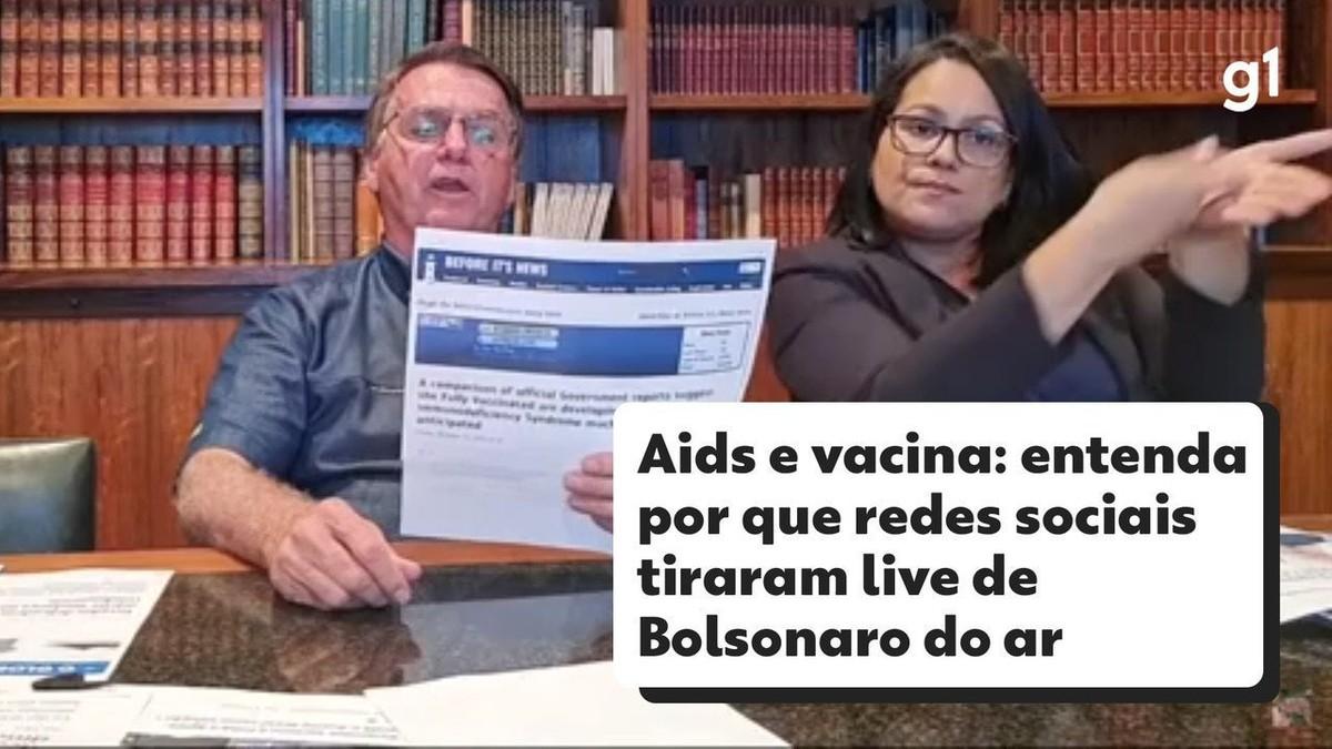 Parlamentares da oposição pedem no STF investigação de Bolsonaro por fake news sobre vacina e Aids