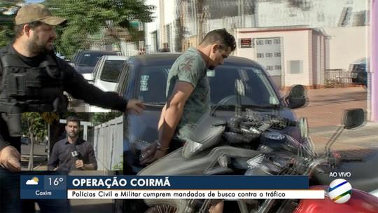 Operação combate furtos e roubos ligados ao tráfico de drogas
