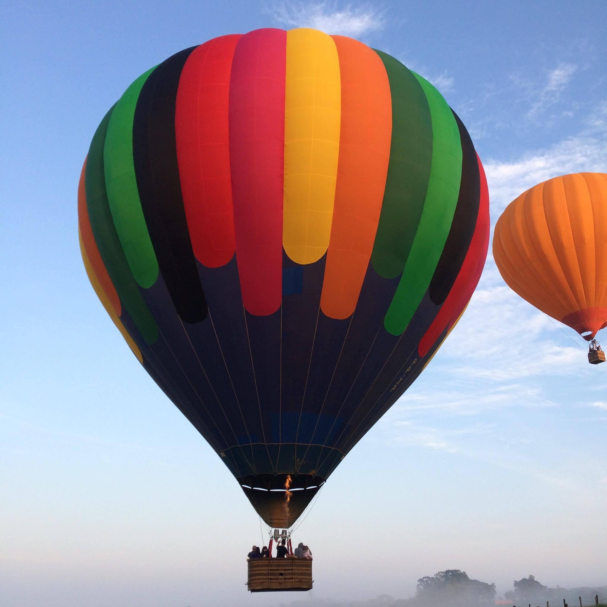 Passeio de Balão em Boituva (Foto: Passeio de Balão/Divulgação)