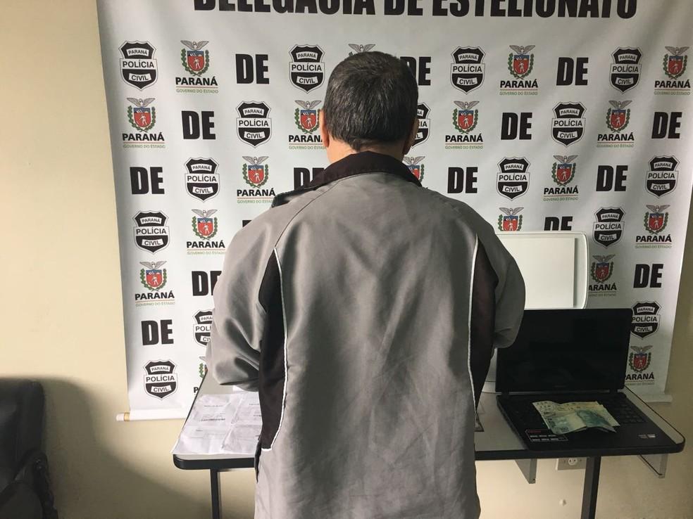Cirurgião-dentista é preso suspeito de fazer compras usando nome de outro profissional (Foto: Divulgação/Polícia Civil)