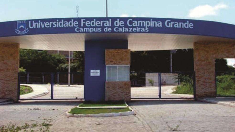 Vagas da Universidade Federal de Campina Grande (UFCG) são para o campus Cajazeiras, no Sertão paraibano  — Foto: UFCG/Divulgação