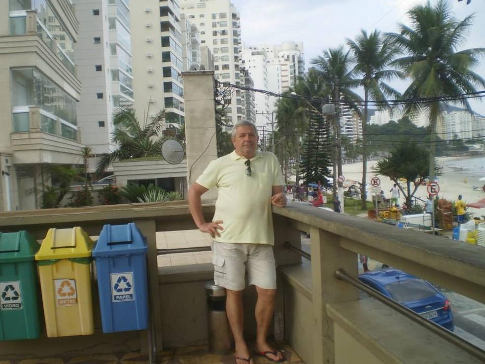 Aparecido Cabrioti, de 64 anos, morreu em Dracena no dia 3 de abril — Foto: Reprodução/Facebook