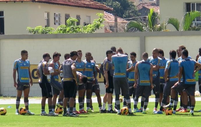 Treino Botafogo (Foto: Thales Soares)
