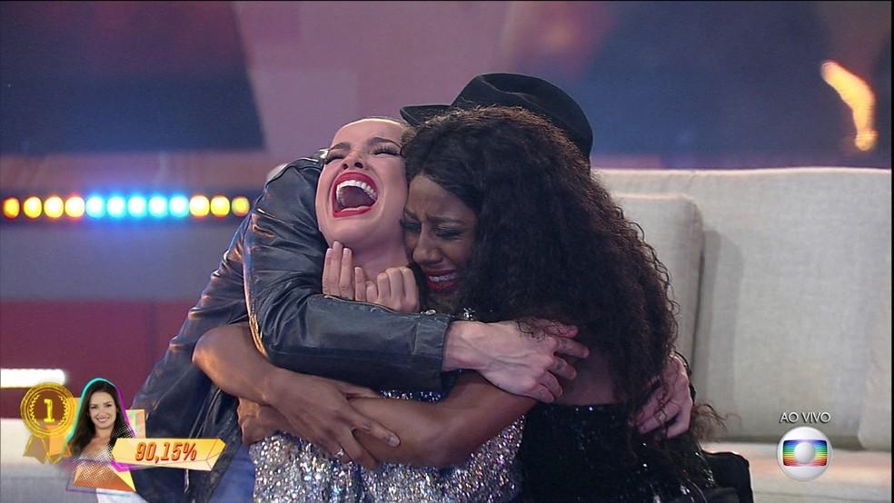 Juliette vence o BBB21 — Foto: Globo
