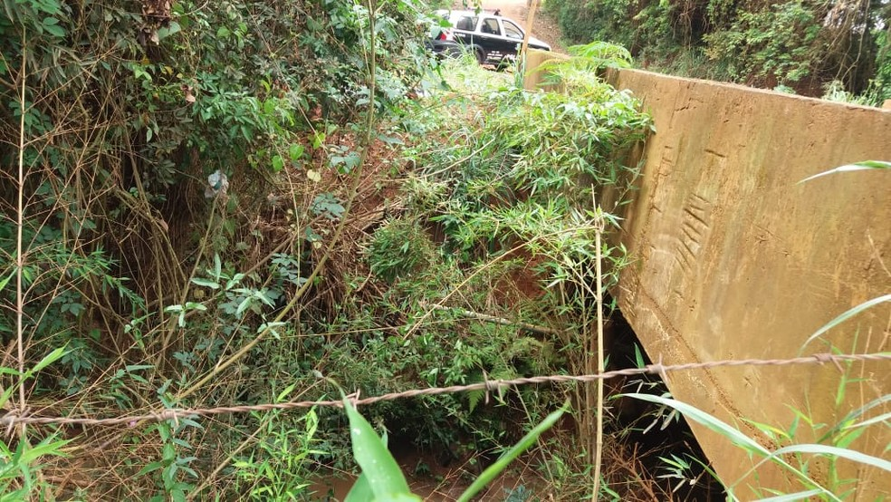 Corpo de mulher é encontrado enrolado em lençol às margens de córrego em Jarinu — Foto: Polícia Civil/Divulgação