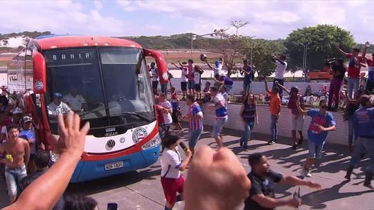 Bahia encara jogo decisivo de bem com a torcida