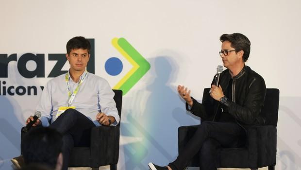 Frederico Trajano, CEO da Magazine Luiza, e Fernando Madeira, CEO da ipsy (Foto: Divulgação)