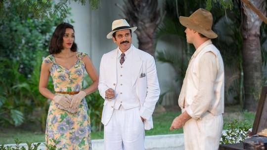 Filomena e Ernesto convidam Candinho para ser padrinho de casamento