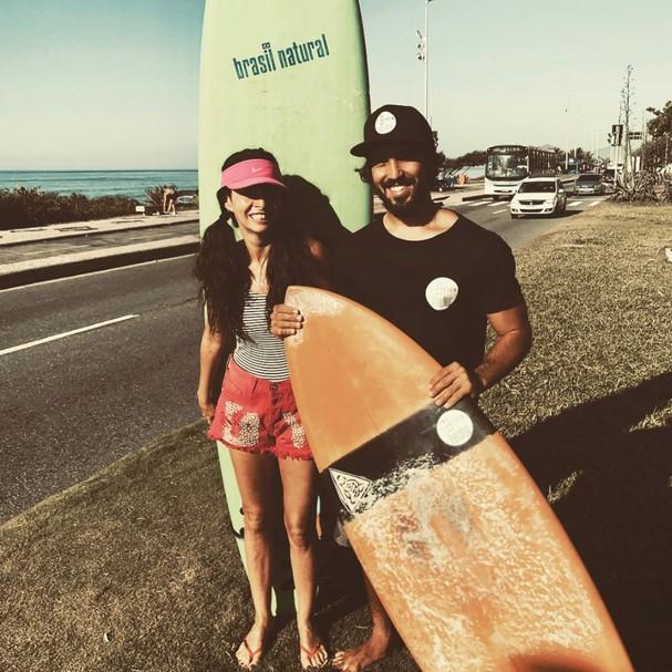 Claudia e Gabriel (Foto: Instagram/Reprodução)