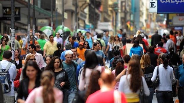 População do Brasil ; população brasileira ; IBGE ; Censo ; economia do Brasil ; economia brasileira ;  (Foto: Agência Brasil/Arquivo)