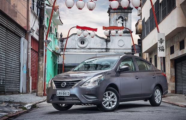 Nissan Versa S Sedan >> Avaliação: Novo Versa 1.0 chega por R$ 41.990 - AUTO ...