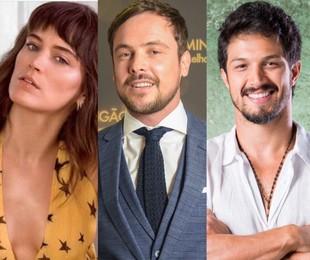Bianca Bin, Sergio Guizé e Romulo Estrela | Reprodução/ Instagram - TV Globo