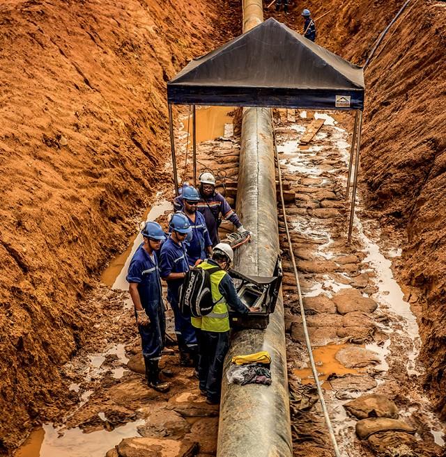 Com o vazamento do mineroduto, a Anglo American suspendeu as atividades da unidade de minério de ferro por nove meses (Foto: Alexandre Rezende/Folhapress)