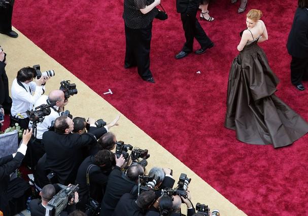 Câmeras em ação no Oscar (Foto: Getty Images)