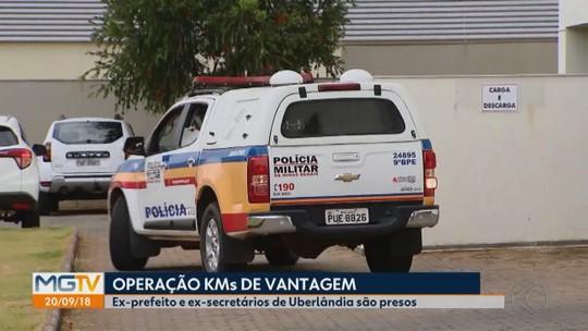 Ex-prefeito Gilmar Machado é preso na Operação 'Kms de Vantagem' em Uberlândia