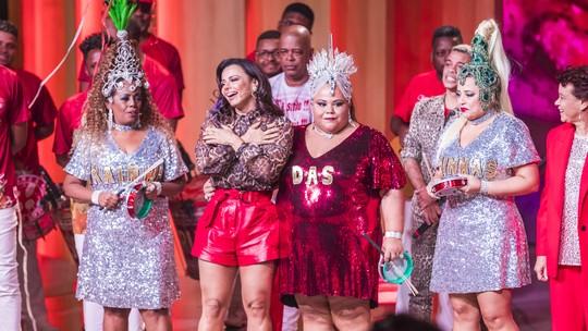 Viviane Araújo ganha samba-enredo em sua homenagem no 'Tamanho Família'