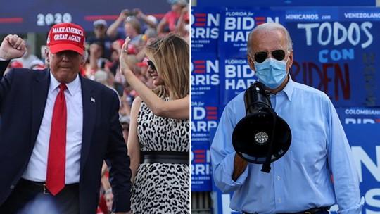 Foto: (Jonathan Ernst/Reuters e Brian Snyder/Reuters)