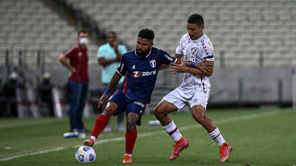 André teve boa atuação contra o Fortaleza no Castelão — Foto: Lucas Merçon / Fluminense FC