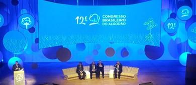 Abertura do Congresso Brasileiro do Algodão 2019 (Foto: Raphael Salomão/Ed. Globo)