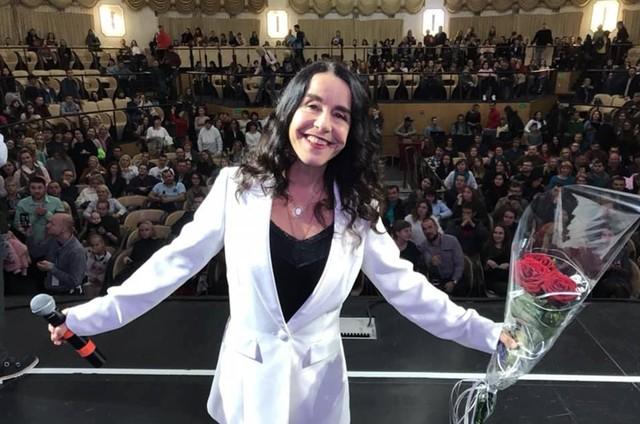 Lucélia Santos (Foto: Arquivo pessoal)