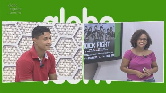 Bate-papo GE: Cangaty fala de preparação para Kick Fight em Rio Branco, AC