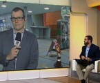 Cobertura da greve na GloboNews | Reprodução