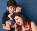 João Fernandes com Maria Belén e o filho deles, Nicolas | Studio Malfort