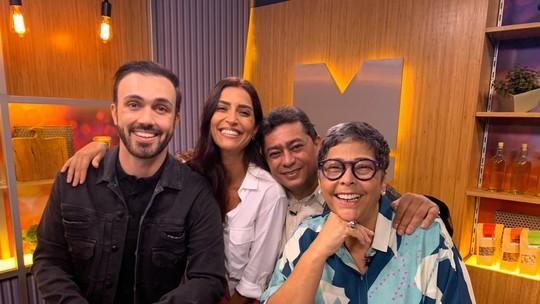 'Mestre do Sabor': Batista se emociona com recado da família na estreia