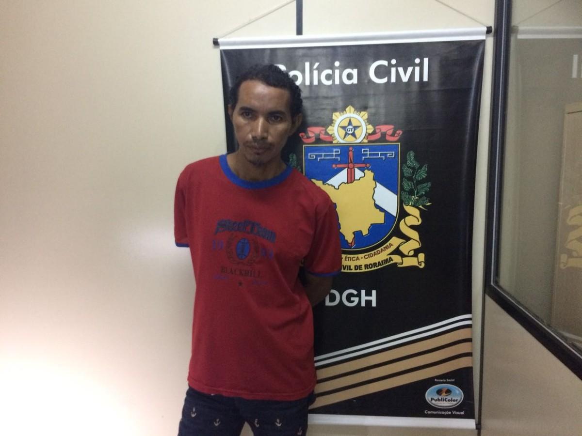 Homem suspeito de matar mulher com golpe de faca no pescoço é preso em Boa Vista