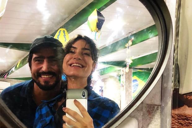 Thaila Ayala e Renato Góes (Foto: Reprodução/Instagram)