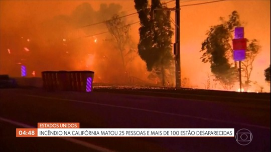 Califórnia, nos EUA, enfrenta um dos piores incêndios da história