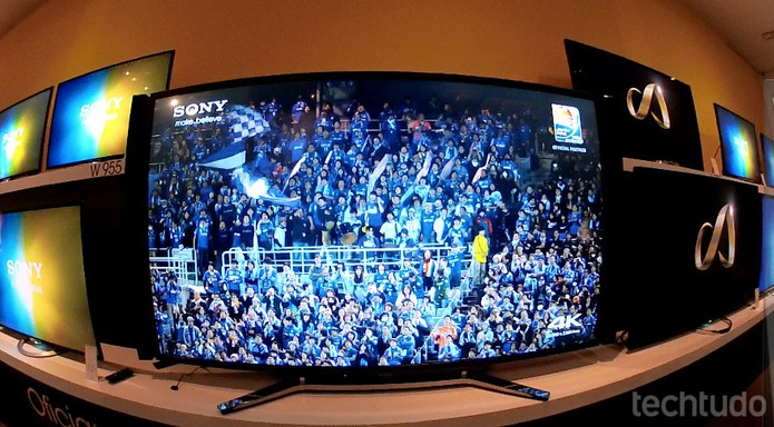 X905 é a TV da Copa do Mundo (Foto: TechTudo/Fabricio Vitorino)