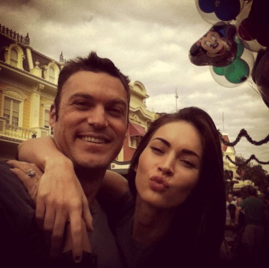Brian Austin Green e Megan Fox (Foto: Instagram)