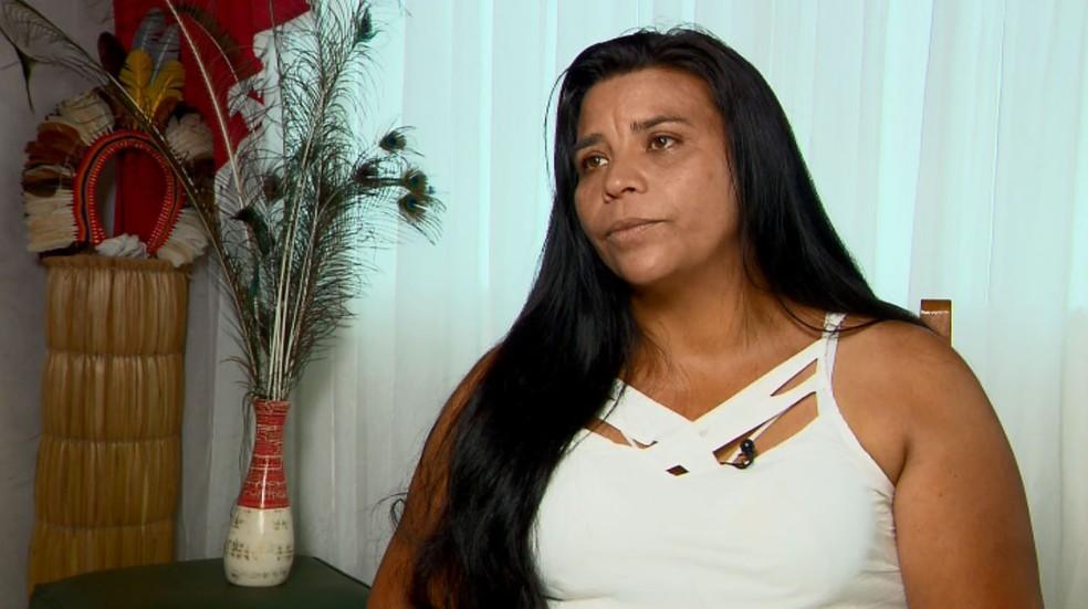 Zuleide de Oliveira acusa ministro de chamá-la para ser convidada laranja — Foto: Reprodução/EPTV