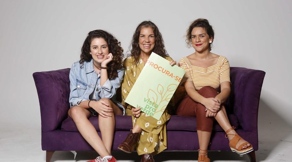 Daniela (no meio), Fernanda (à direita) e Gabriela Pereira as donas do Appzinho (Foto: Divulgação/Marcos Serra Lima)