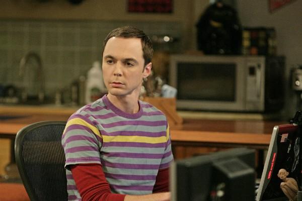 O ator Jim Parsons em cena de The Big Bang Theory (Foto: Reprodução)